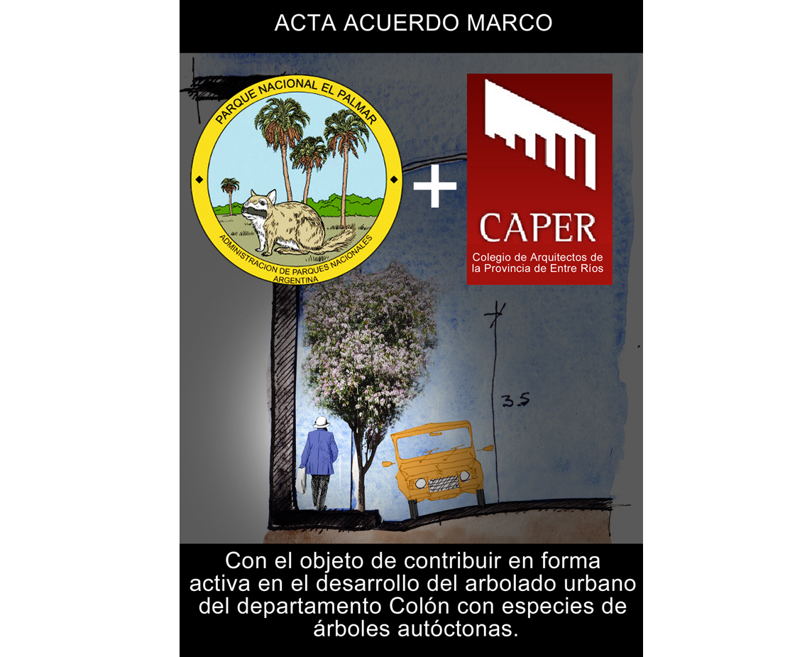 Convenios Colegio de Arquitectos con el Parque El Palmar y la Municipalidad de Colón