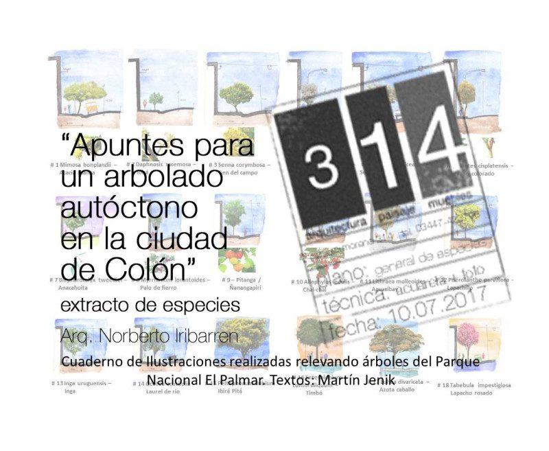 Apuntes para un arbolado autóctono en la ciudad de Colón.