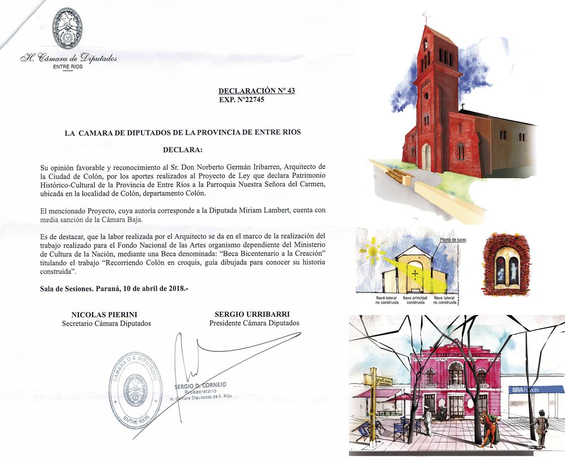 Proyectos de patrimonio arquitectónico para la ciudad de Colón.